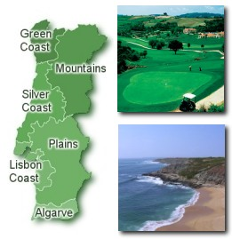 Portugal Silver Coast Property Region Map